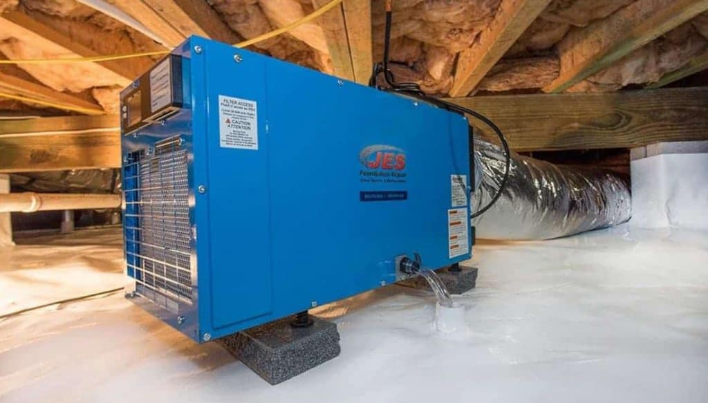 What Size Of Dehumidifier Do You Need For A Crawl Space