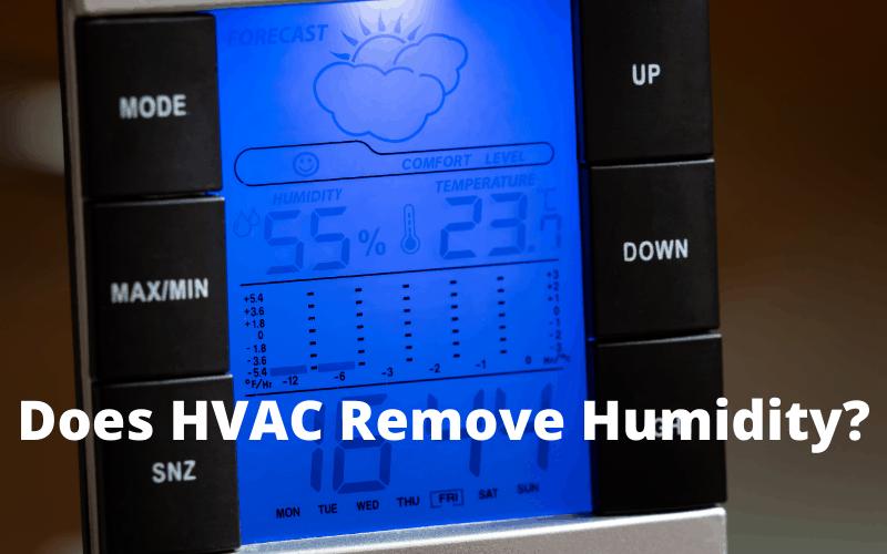 Does hvac remove humidity