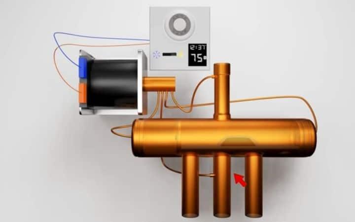 How a Heat Pump Reversing Valve Works
