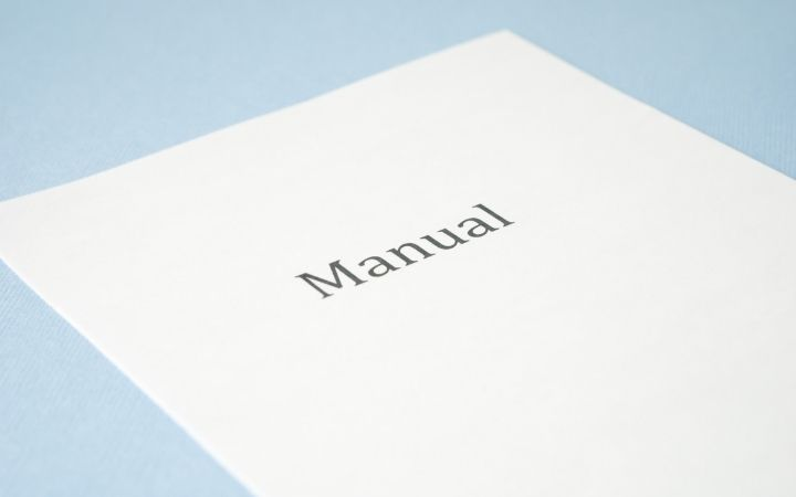 Thermostat manual paper